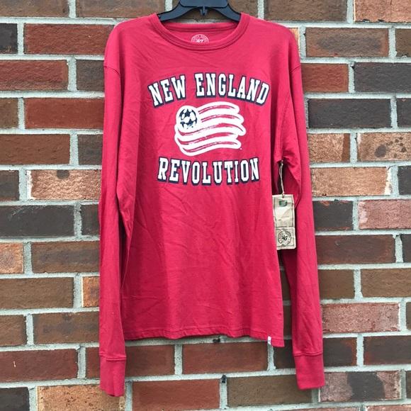 online store 84895 bda6b NWT New England Revolution soccer shirt men's Sz L Boutique